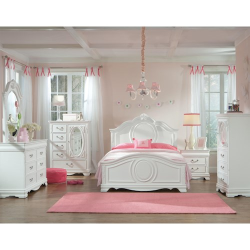 Standard Furniture Jessica Twin Bedroom Group