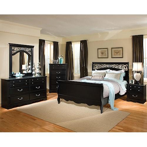 Standard Furniture Madera Queen Bedroom Group