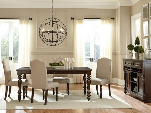 Standard Furniture McGregor Dining Room Group