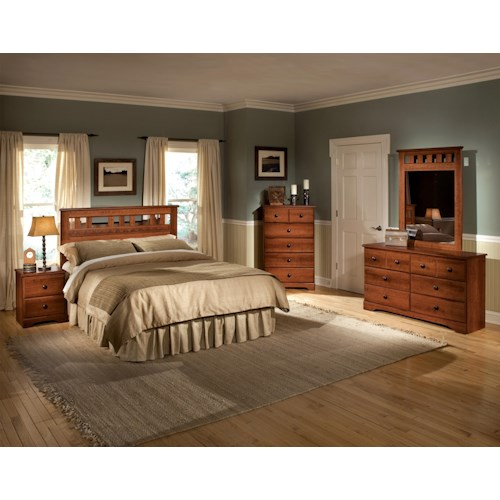 Standard Furniture Orchard Park Full/Queen Bedroom Group