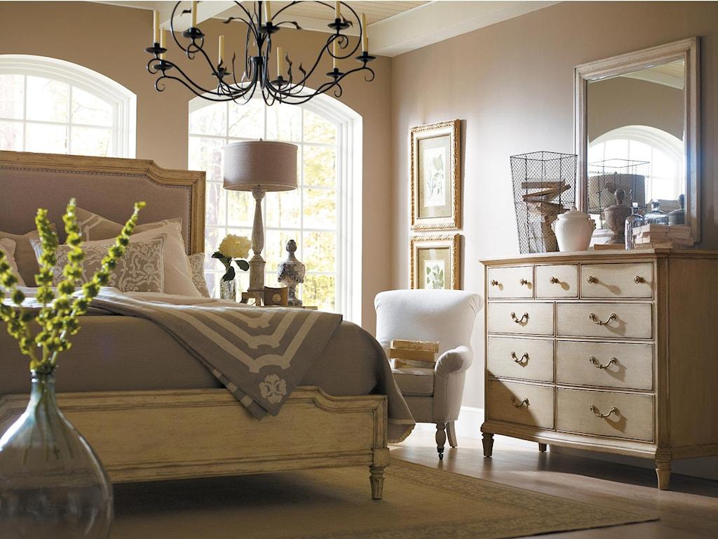 Stanley Furniture European CottageQueen Bedroom Group