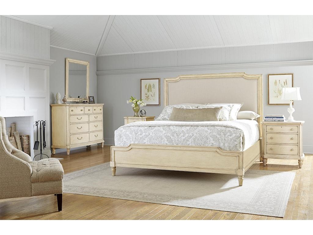 Stanley Furniture European Cottage King Bedroom Group Dunk