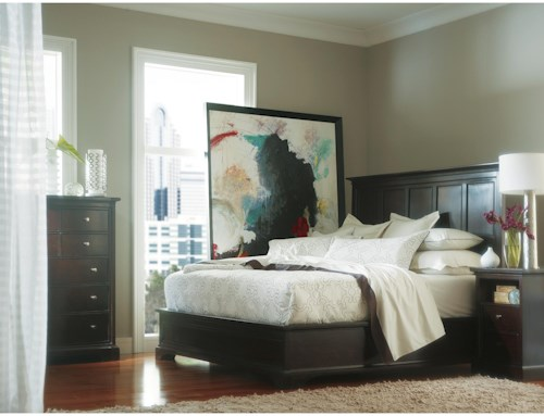 Stanley Furniture Transitional California King Bedroom Group