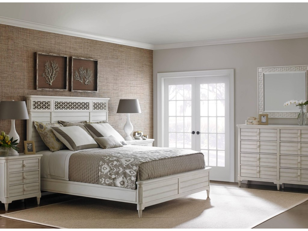 Stanley Furniture Cypress Grove Queen Bedroom Group