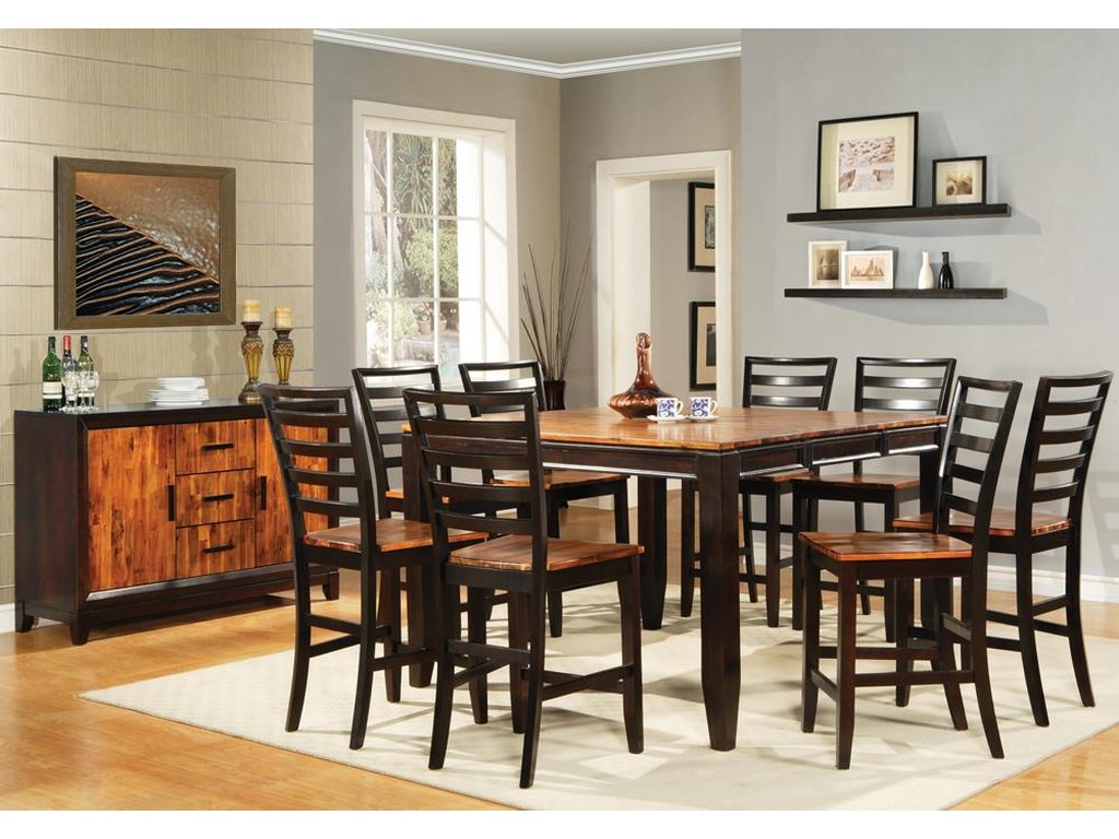 Vendor 3985 AbacoCasual Dining Room Group