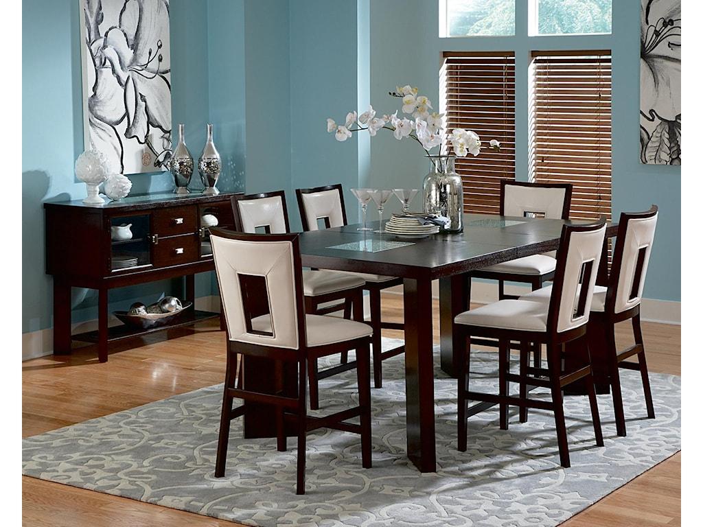 Vendor 3985 DelanoFormal Dining Room Group