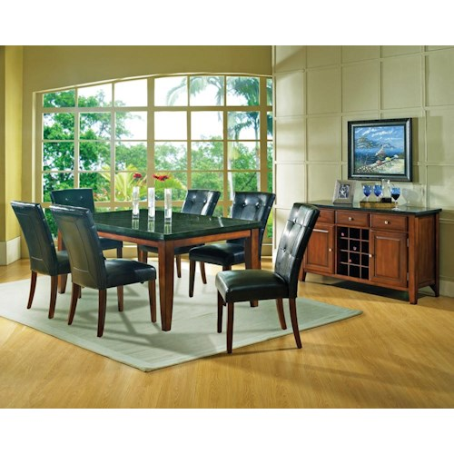 Steve Silver Granite Bello Casual Dining Room Group