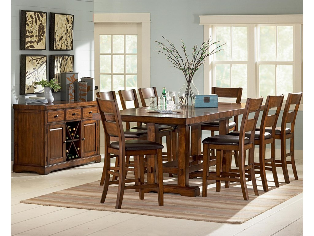Steve Silver ZappaFormal Dining Room Group