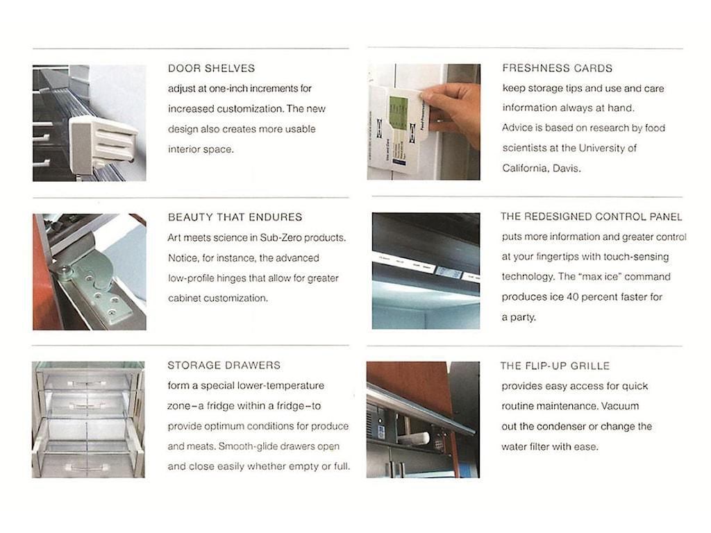Sub-Zero Built-In Refrigerators28.2 Cu. Ft. Built-In Refrigerator