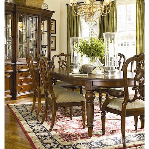 Thomasville Fredericksburg Formal Dining Room Group Story Lee Furniture Formal Dining