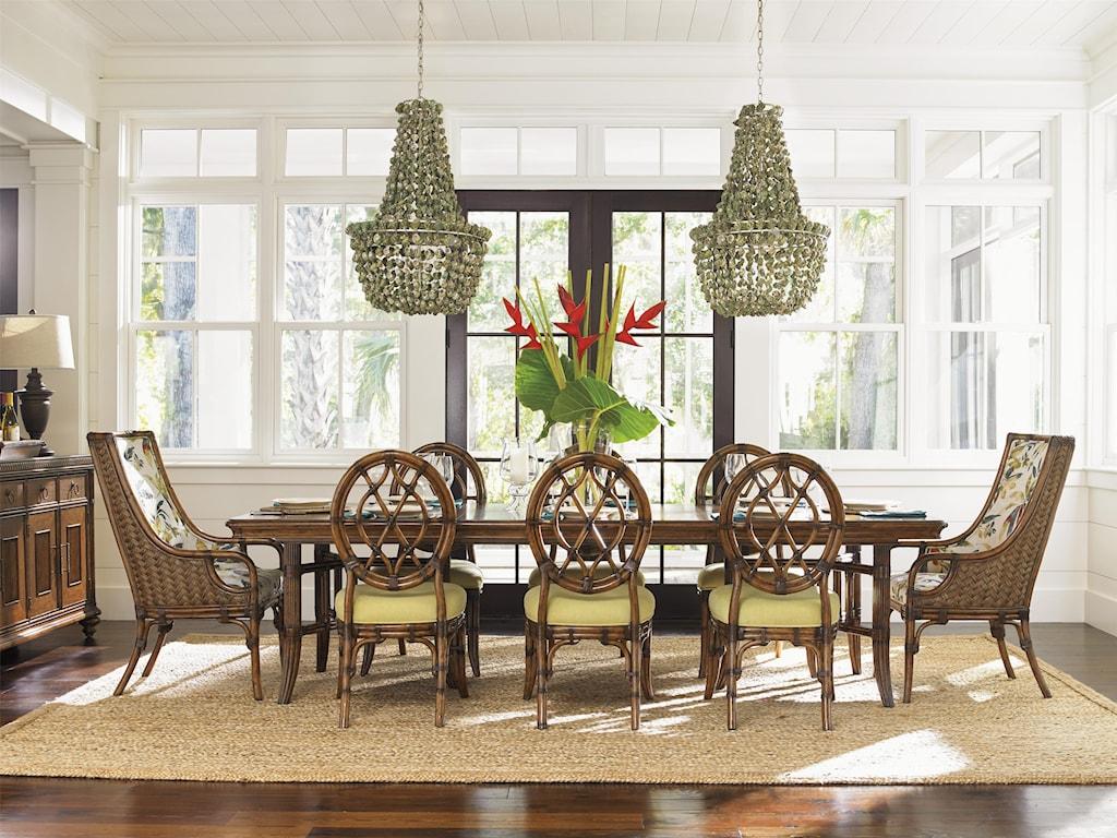 Tommy Bahama Home Bali HaiFormal Dining Room Group