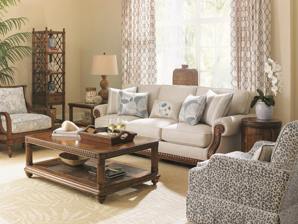 Tommy Bahama Home Bali HaiStationary Living Room Group