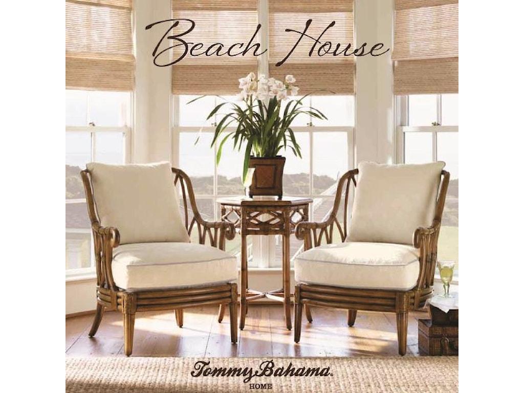 Tommy Bahama Home Beach House<b>Customizable</b> Sanibel Arm Chair