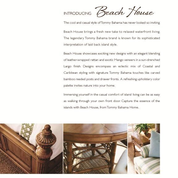 Tommy Bahama Home Beach HouseGolden Isle Sofa