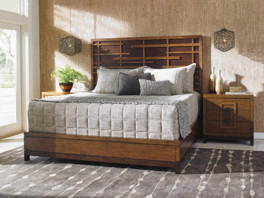 Tommy Bahama Home Island FusionQueen Bedroom Group