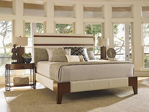 Tommy Bahama Home Island Fusion King Bedroom Group
