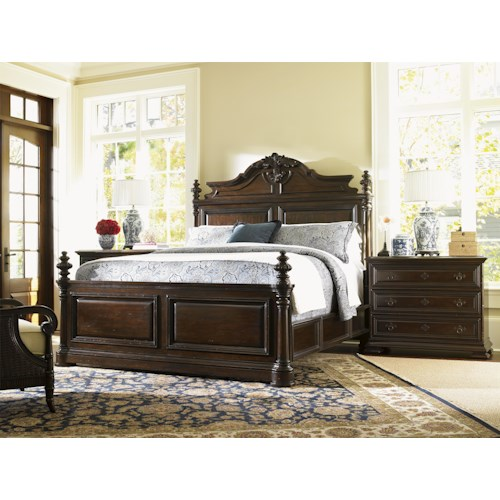 Tommy Bahama Home Island Traditions Queen Bedroom Group
