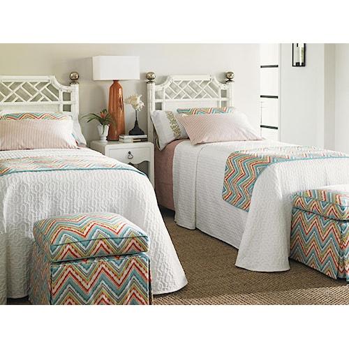 Tommy Bahama Home Ivory Key Twin Bedroom Group