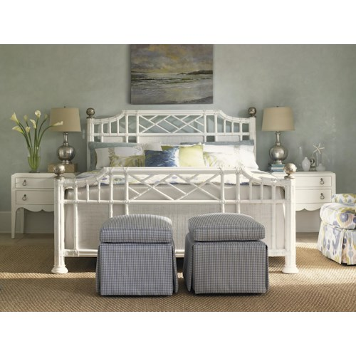Tommy Bahama Home Ivory Key King Bedroom Group