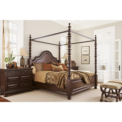 Tommy Bahama Home Kilimanjaro Bedroom Group