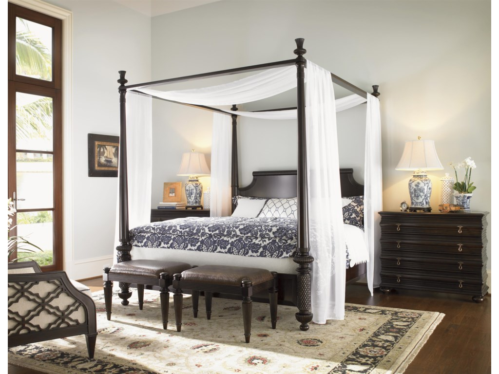 Tommy Bahama Home Royal KahalaCalifornia King Bedroom Group