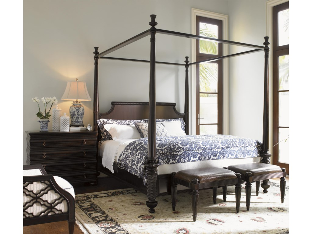 Tommy Bahama Home Royal KahalaQueen Bedroom Group