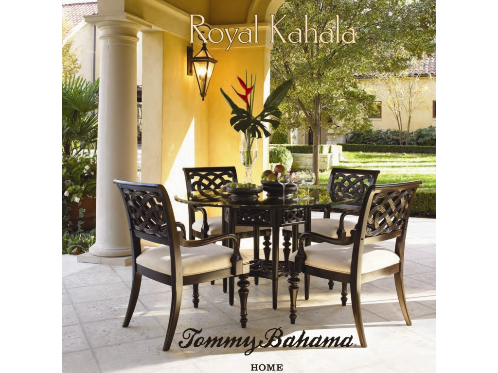 Tommy Bahama Home Royal KahalaStriped Delight Accent Table