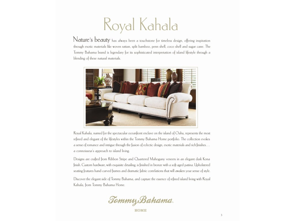 Tommy Bahama Home Royal KahalaLotus Blossom Mirror