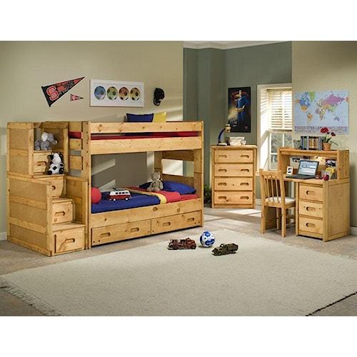 Trendwood Bunkhouse Bedroom Bunk Group