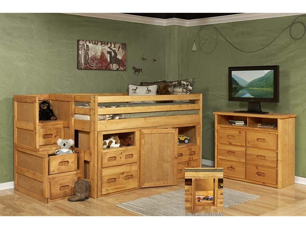 Trendwood BunkhouseLoft Bedroom Group