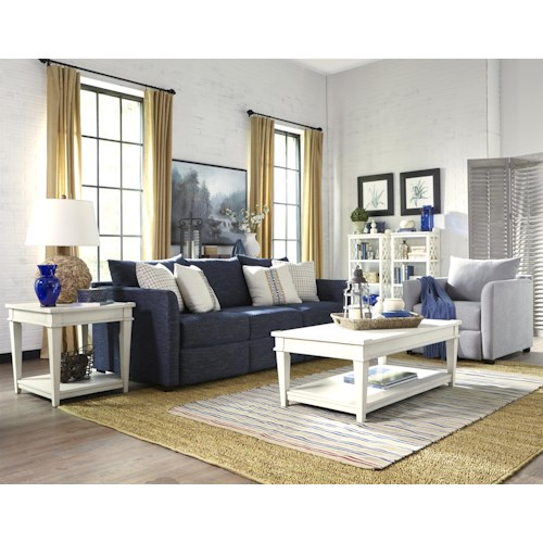 Trisha Yearwood Home Collection by Klaussner Atlanta Reclining Living Room Group