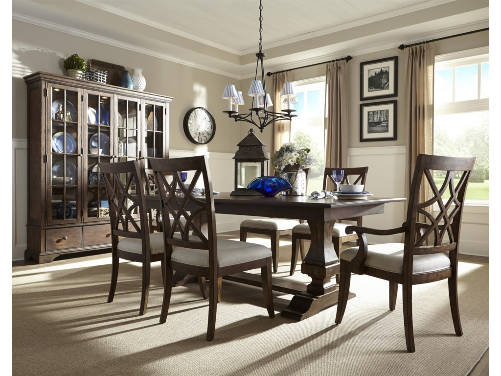 Trisha Yearwood Home Collection by Klaussner Formal  Dining Room Group