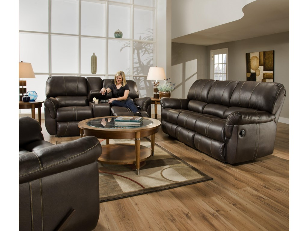 United Furniture Industries 50365Reclining Living Room Group