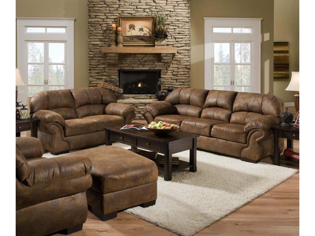 United Furniture Industries 6270Stationary Living Room Group