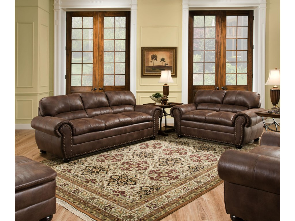 United Furniture Industries 7510Stationary Living Room Group