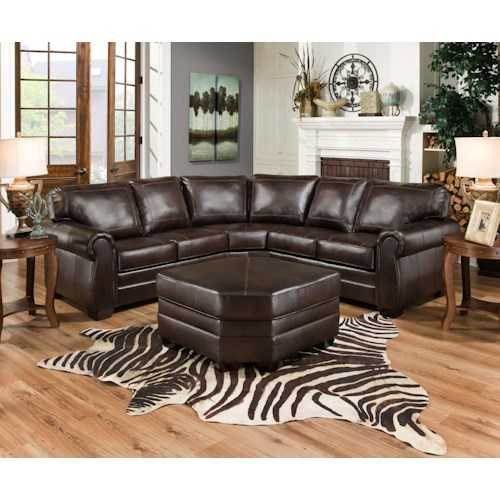 United Furniture Industries 9222 Stationary Living Room Group