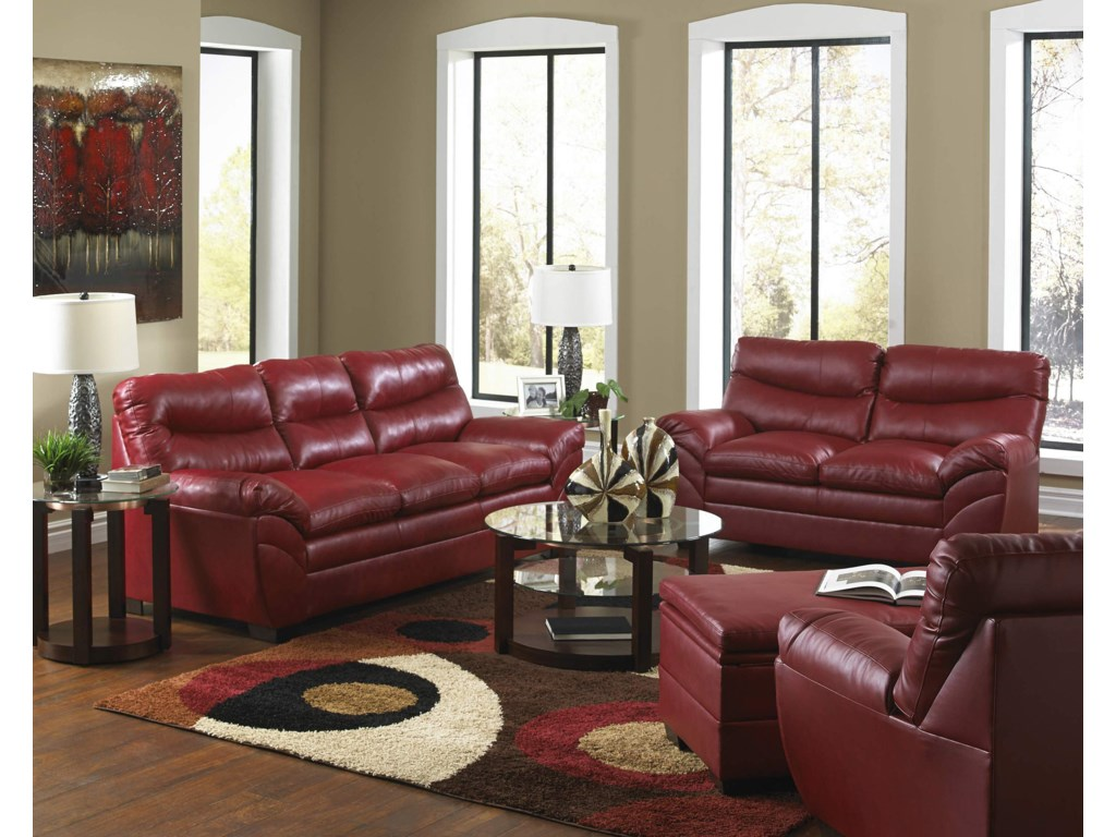 United Furniture Industries 9515Stationary Living Room Group