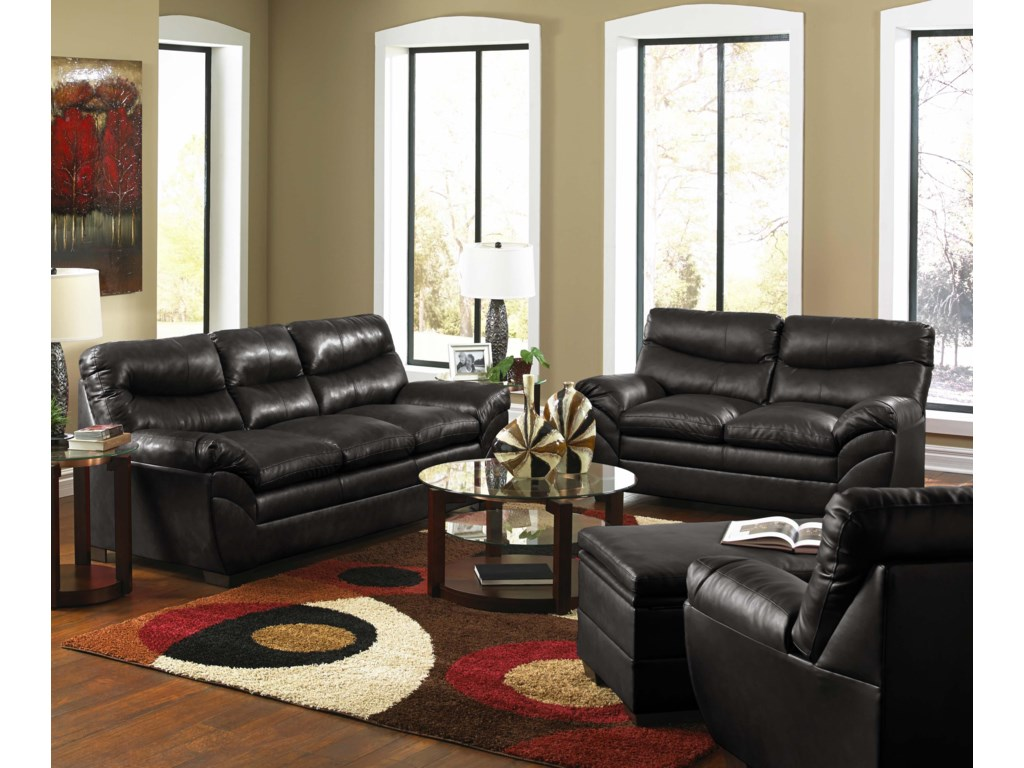 United Furniture Industries 9515 Stationary Living Room
