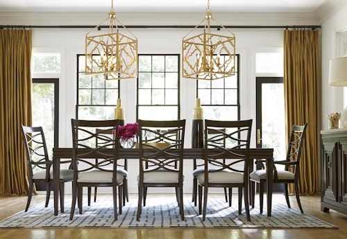 Great Rooms California - Hollywood Hills Formal Dining Room Group