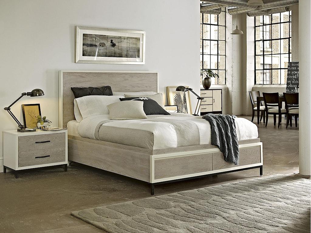 Universal CuratedKing Bedroom Group