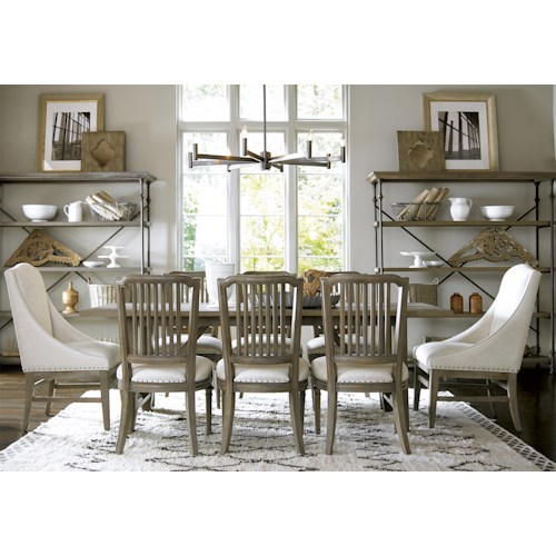 Universal Curated Formal Dining Room Group