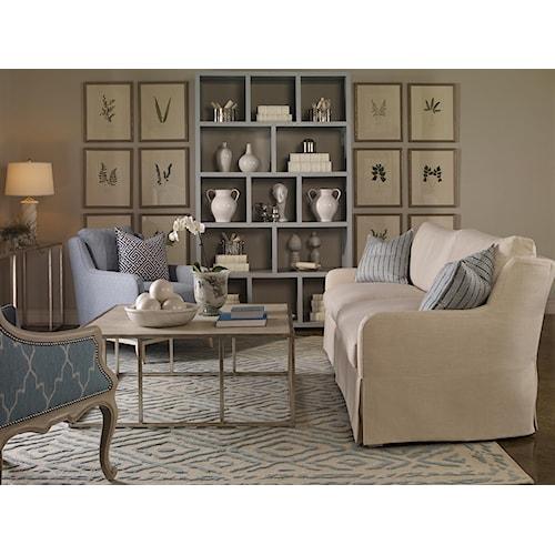Vanguard Furniture Fisher Stationary Living Room Group