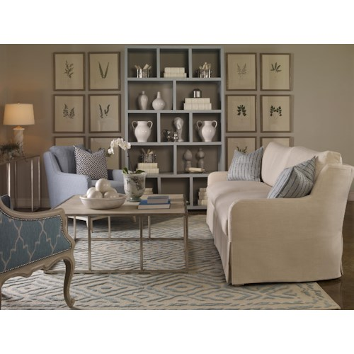 Vanguard Furniture Fisher Stationary Living Room Group