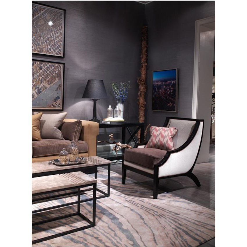 Thom Filicia Home Collection Dining Dark Finish By Vanguard Furniture Malouf Co Dealer