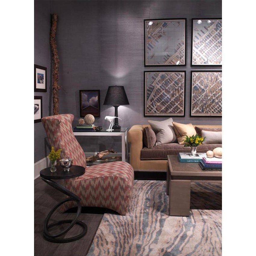 Thom Filicia Home Collection Tables Dark Finish By Vanguard Furniture Malouf Co Dealer