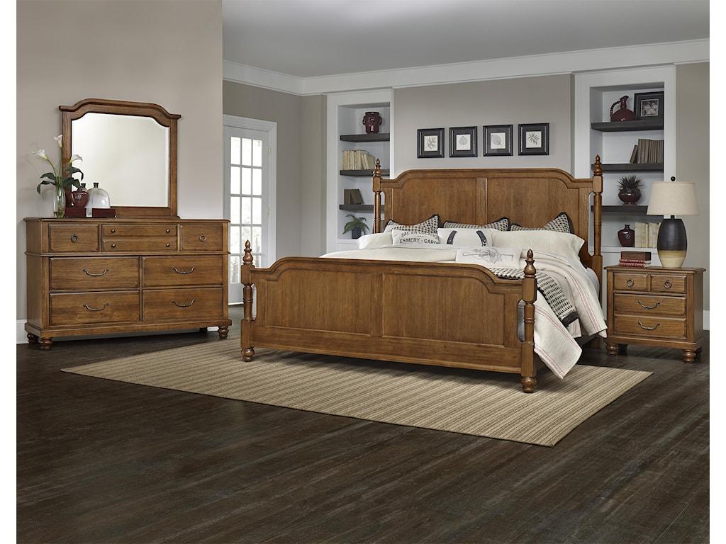 Vaughan Bassett ArrendelleQueen Bedroom Group