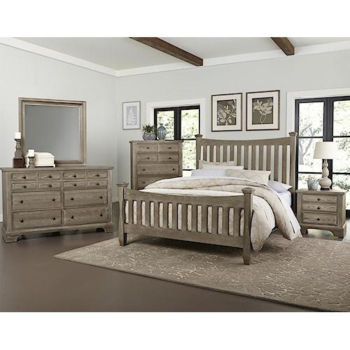 Vaughan Bassett Bedford Queen Bedroom Group