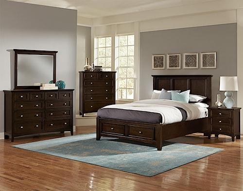 Vaughan Bassett Bonanza Queen Bedroom Group