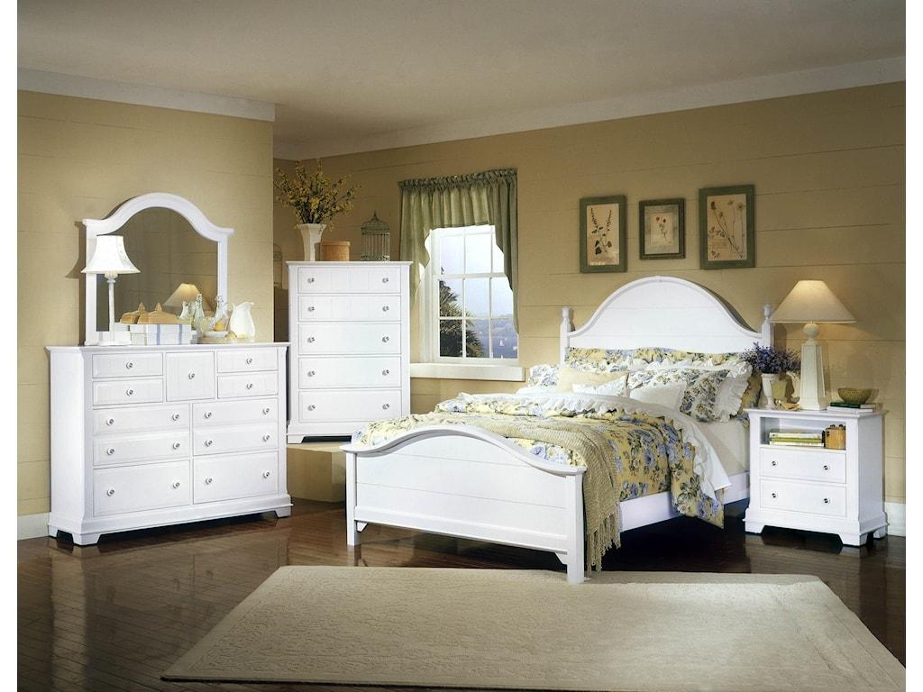 Vaughan Bassett CottageKing Bedroom Group