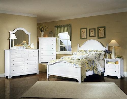 Vaughan Bassett Cottage King Bedroom Group